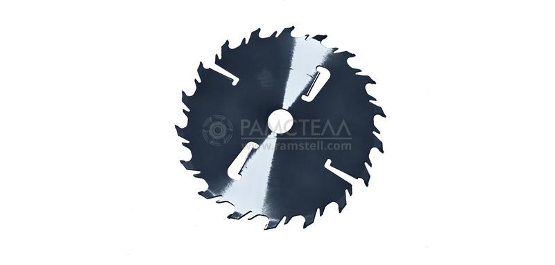 Пила дисковая 400х50х2,8/4,4 z36-18+4 Chrome