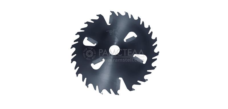 Пила дисковая 400х50х2,8/4,3 z36-18+6 Black