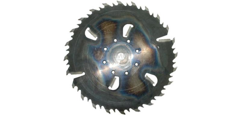 Пила дисковая 450х38х3,2/4,8 z24+4 GASS (Гризли)