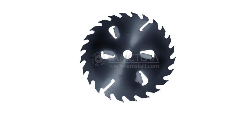 Пила дисковая 500х100х3,2/5,0 z24+6 Black