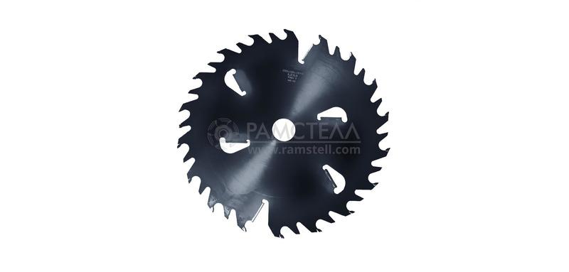 Пила дисковая 500х50х3,2/5,0 z 36-18+6 Black