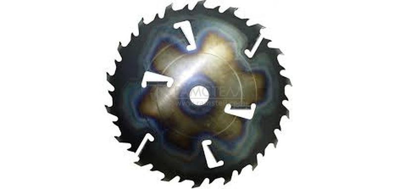 Пила дисковая 610х50х3,9/6,3 z18+6 GASS