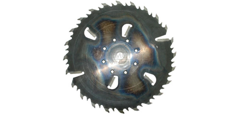 Пила дисковая 630х35х3,8/5,7 z24+6 GASS (Гризли)