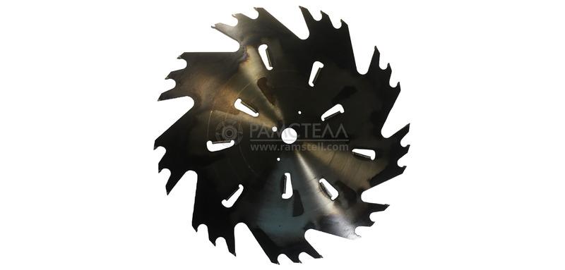 Пила дисковая 800х50х36-9+9 z27 5,0/7,8 Black