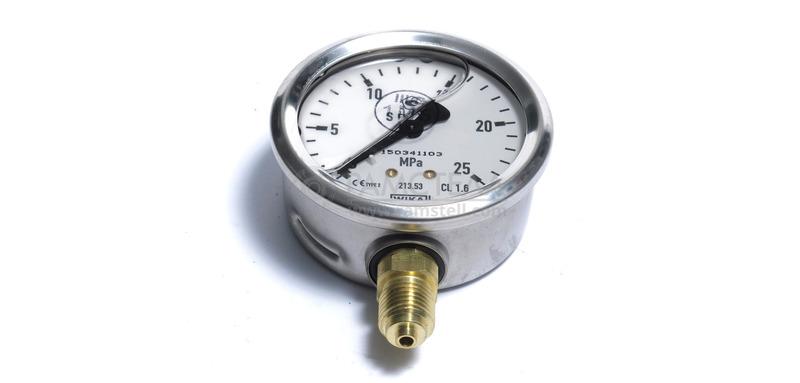 Манометр, тип 213.53.063, 0....25 МПа, 63 мм