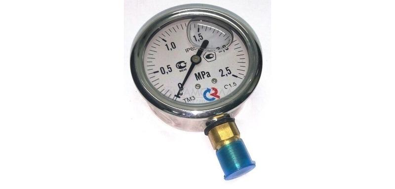 Манометр, тип 213.53.063., 0...25 bar, д.63 мм