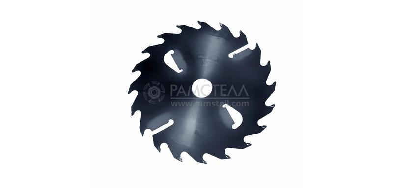 Пила дисковая 300х50х2,4/3,8 z20+4 Black